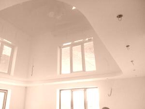 Многоуровневые натяжные потолки в доме